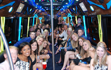 Hamilton party bus rental